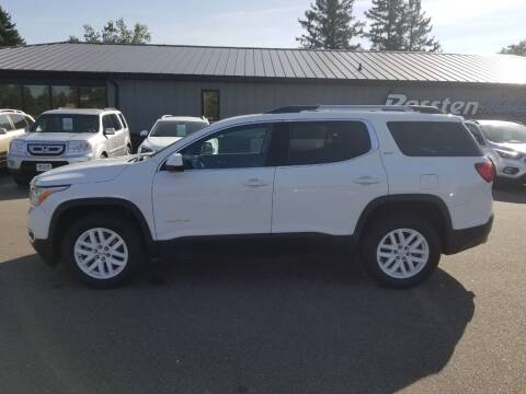 2018 GMC Acadia for sale at ROSSTEN AUTO SALES in Grand Forks ND