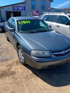 2004 Chevrolet Impala for sale at Classic Heaven Used Cars & Service in Brimfield MA