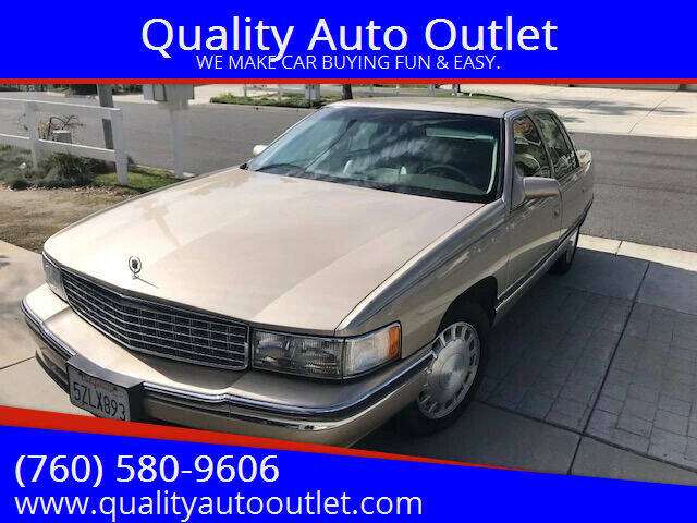 1996 Cadillac DeVille for sale at Quality Auto Outlet in Vista CA