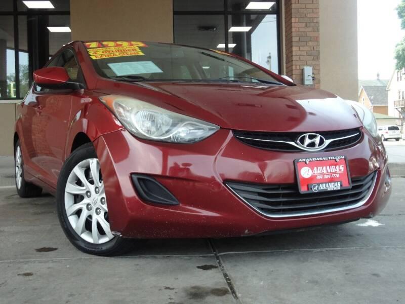 2013 Hyundai Elantra for sale at Arandas Auto Sales in Milwaukee WI