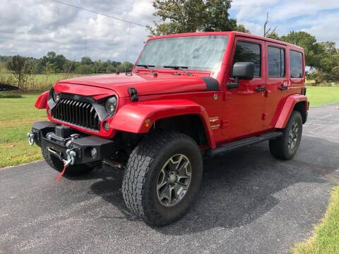 2011 Jeep Wrangler Unlimited for sale at Champion Motorcars in Springdale AR