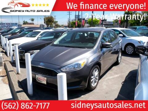 2017 Ford Focus for sale at Sidney Auto Sales in Downey CA