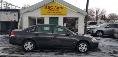 2008 Chevrolet Impala for sale at ABC AUTO CLINIC - Chubbuck in Chubbuck ID