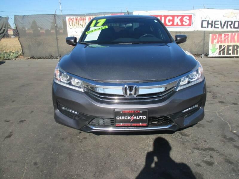 2017 Honda Accord for sale at Quick Auto Sales in Modesto CA