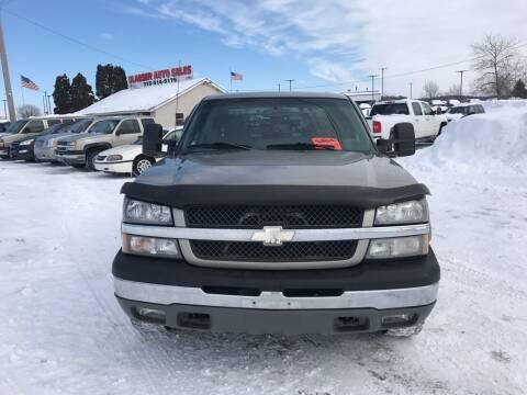 2003 Chevrolet Silverado 1500HD for sale at BLAESER AUTO LLC in Chippewa Falls WI