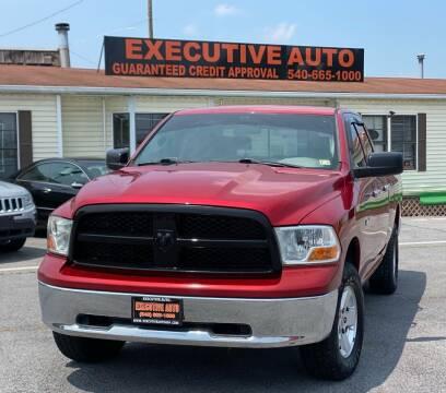 2010 Dodge Ram Pickup 1500 for sale at Executive Auto in Winchester VA