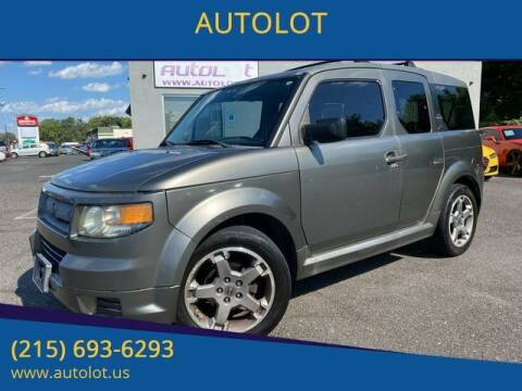 2008 Honda Element for sale at AUTOLOT in Bristol PA