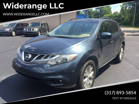 2011 Nissan Murano for sale at Widerange LLC in Greenwood IN