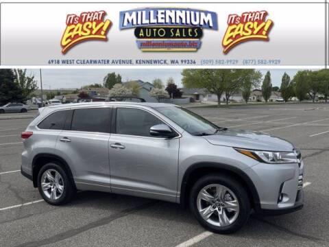 2017 Toyota Highlander for sale at Millennium Auto Sales in Kennewick WA