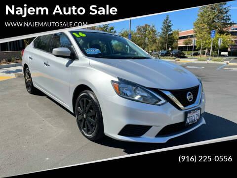 2016 Nissan Sentra for sale at Najem Auto Sale in Sacramento CA