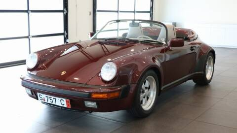 1989 Porsche 911 for sale at Gaudin Porsche in Las Vegas NV