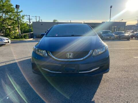 2015 Honda Civic for sale at Platinum Cars Exchange in Downers Grove IL