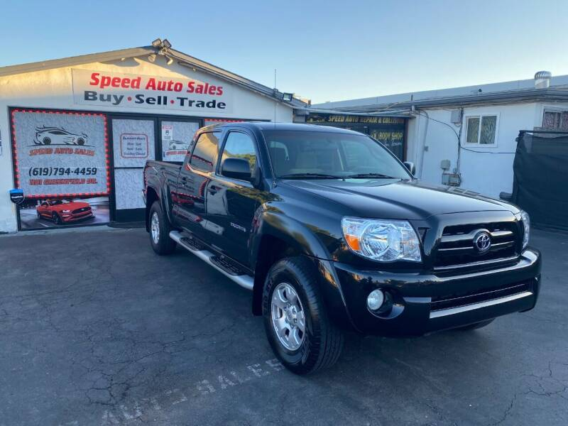 2007 Toyota Tacoma for sale at Speed Auto Sales in El Cajon CA