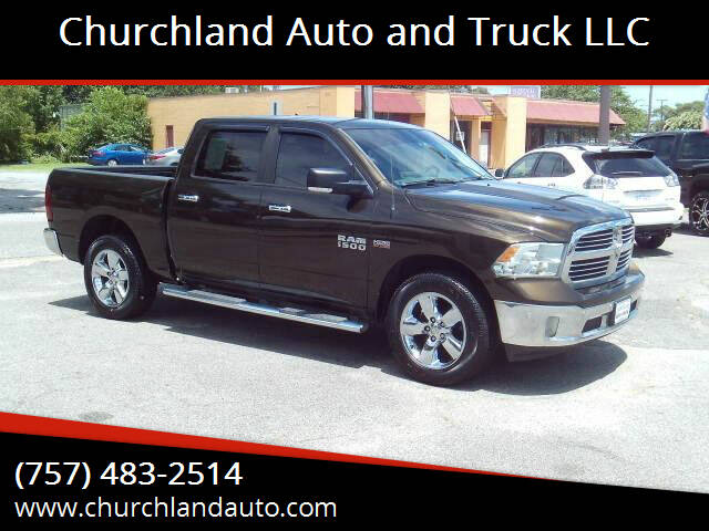 2014 RAM Ram Pickup 1500 for sale at Churchland Auto and Truck LLC in Portsmouth VA