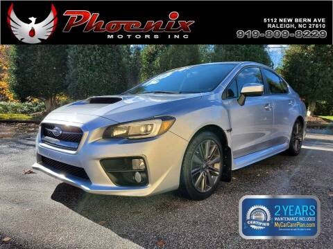 2015 Subaru WRX for sale at Phoenix Motors Inc in Raleigh NC