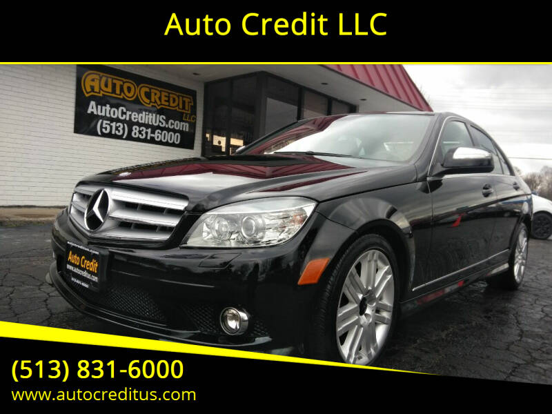 2008 Mercedes-Benz C-Class for sale at Auto Credit LLC in Milford OH