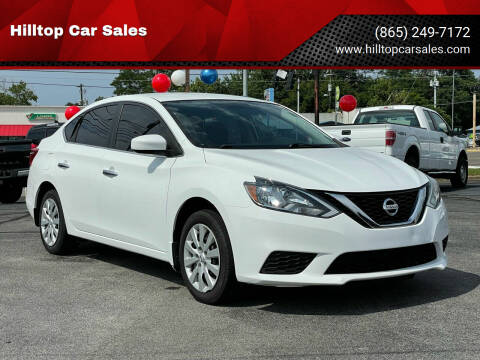 2016 Nissan Sentra for sale at Hilltop Car Sales in Knoxville TN