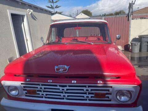 1964 Ford F-100 for sale at Classic Car Deals in Cadillac MI