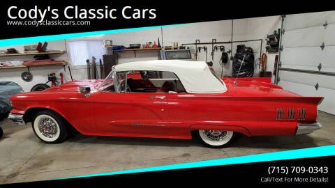 1960 Ford Thunderbird for sale at Cody's Classic Cars in Stanley WI