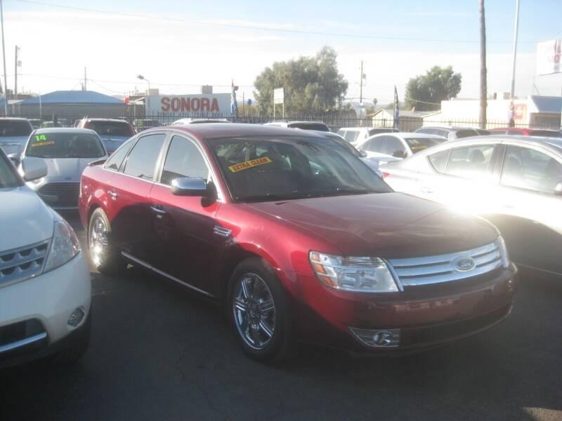 2008 Ford Taurus for sale at Town and Country Motors - 1702 East Van Buren Street in Phoenix AZ