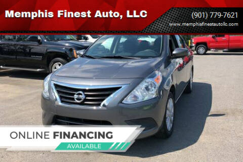 2017 Nissan Versa for sale at Memphis Finest Auto, LLC in Memphis TN