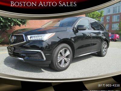 2017 Acura MDX for sale at Boston Auto Sales in Brighton MA
