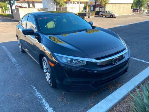 2016 Honda Civic for sale at Cars4U in Escondido CA