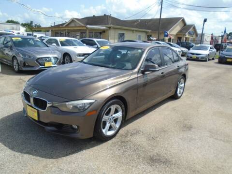 2013 BMW 3 Series for sale at BAS MOTORS in Houston TX