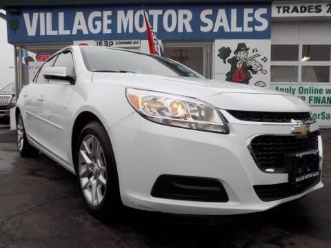 2014 Chevrolet Malibu for sale at Village Motor Sales in Buffalo NY