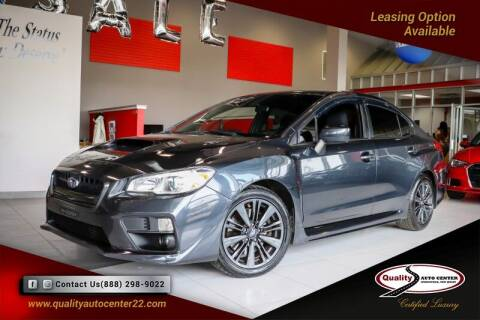 2017 Subaru WRX for sale at Quality Auto Center of Springfield in Springfield NJ