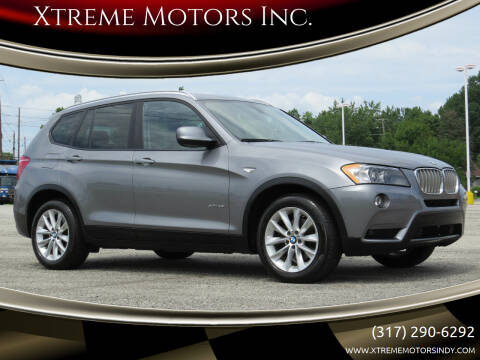 2013 BMW X3 for sale at Xtreme Motors Inc. in Indianapolis IN