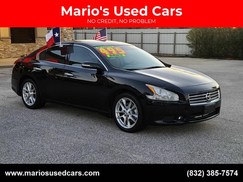 2011 Nissan Maxima for sale at Mario's Used Cars - Pasadena Location in Pasadena TX