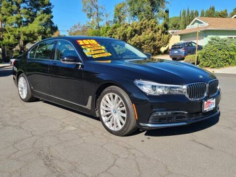 2018 BMW 7 Series for sale at CAR CITY SALES in La Crescenta CA