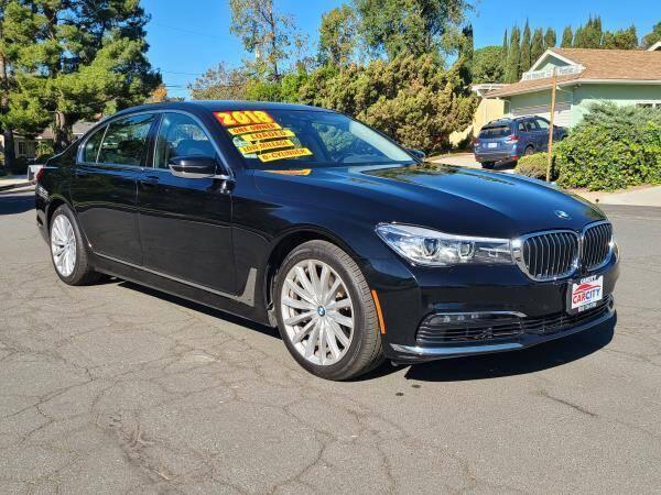 2018 BMW 7 Series for sale at CAR CITY SALES in La Crescenta CA