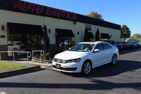 2014 Volkswagen Passat for sale at Auto Exotica in Red Bank NJ