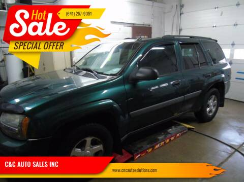 2005 Chevrolet TrailBlazer for sale at C&C AUTO SALES INC in Charles City IA