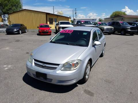 2008 Chevrolet Cobalt for sale at BELOW BOOK AUTO SALES in Idaho Falls ID