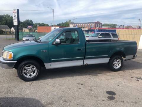 1997 Ford F-150 for sale at LINDER'S AUTO SALES in Gastonia NC