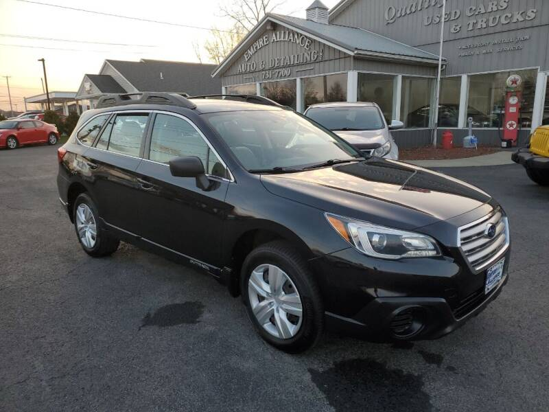 2015 Subaru Outback for sale at Empire Alliance Inc. in West Coxsackie NY