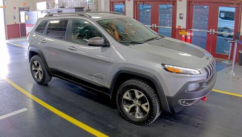 2014 Jeep Cherokee for sale at Automotive Toy Store LLC in Mount Carmel PA
