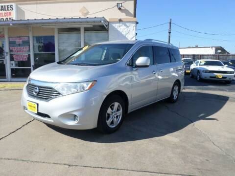 2012 Nissan Quest for sale at Metroplex Motors Inc. in Houston TX