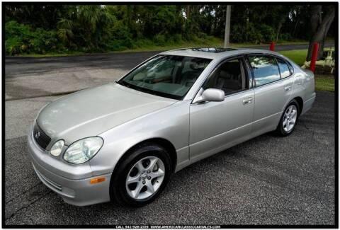 2001 Lexus GS 300 for sale at Sarasota Car Sales in Sarasota FL