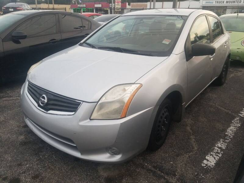 2012 Nissan Sentra for sale at Castle Used Cars in Jacksonville FL