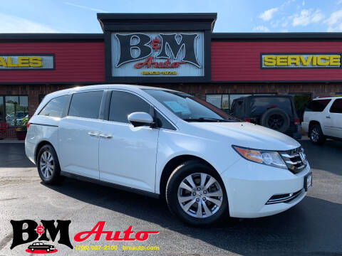 2016 Honda Odyssey for sale at B & M Auto Sales Inc. in Oak Forest IL