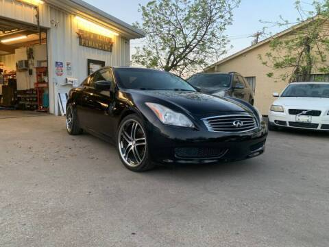 2009 Infiniti G37 Coupe for sale at Bad Credit Call Fadi in Dallas TX