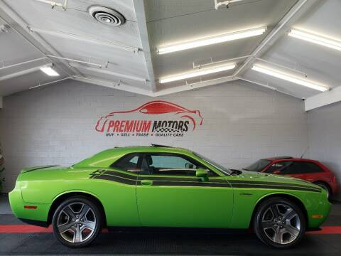 2011 Dodge Challenger for sale at Premium Motors in Villa Park IL