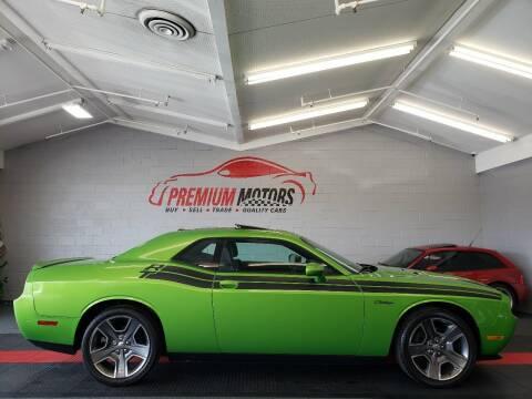 2011 Dodge Challenger for sale at Premium Motors in Villa Park IL