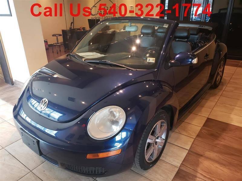 2006 Volkswagen New Beetle Convertible for sale in Fredericksburg, VA