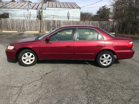 2000 Honda Accord for sale at Mike's Auto Sales of Charlotte in Charlotte NC