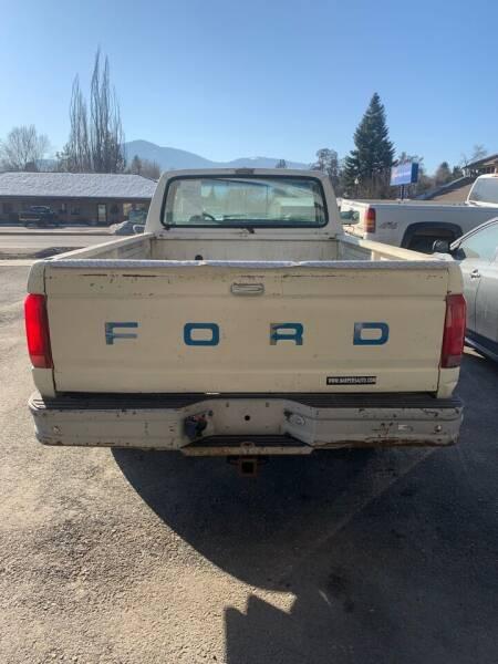 1991 Ford F-250 2dr XL Standard Cab LB - Kettle Falls WA